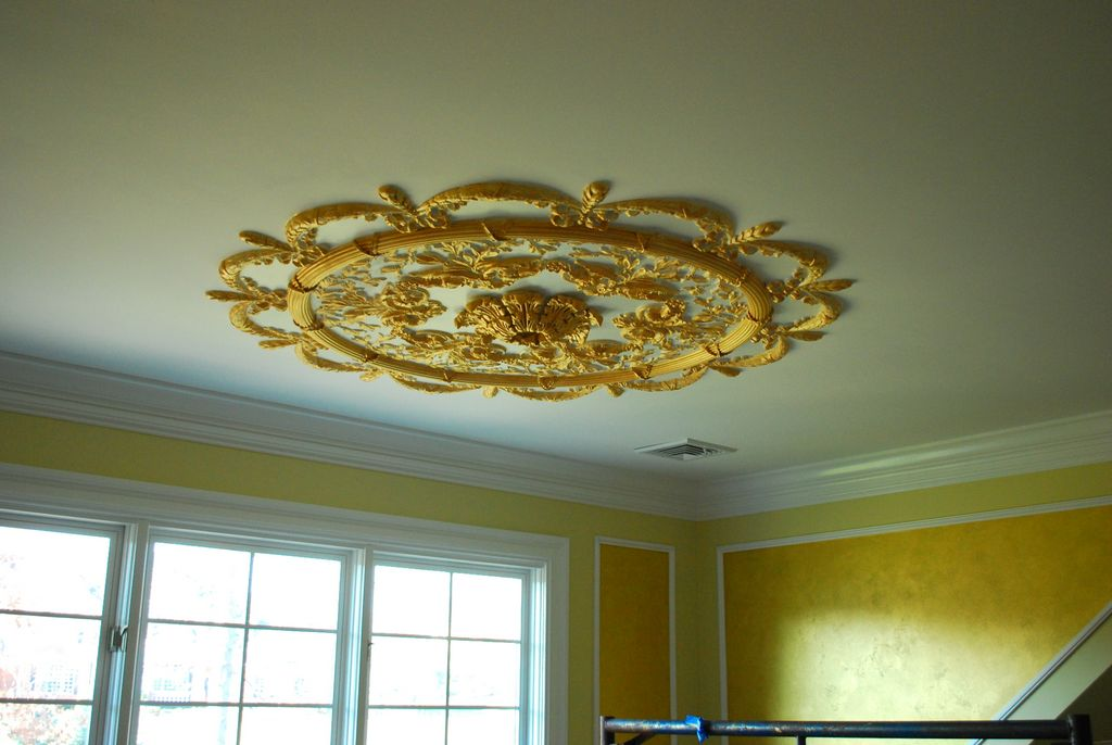 Hand Painted Ceiling Medallion